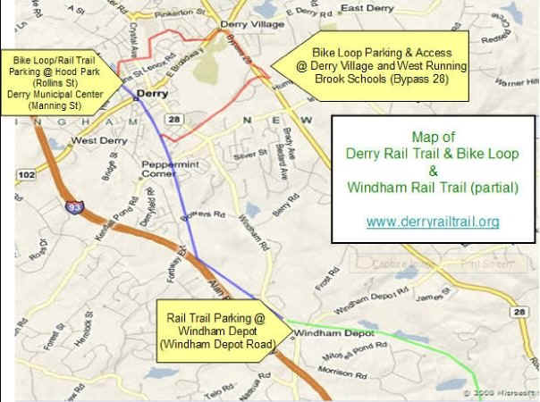 DERRY LOOP TRAIL MAP on